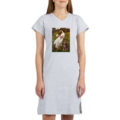 Windflowers / Dobie (#8) Women's Nightshirt