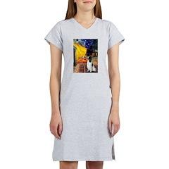 Cafe / Eng Springer Women's Nightshirt