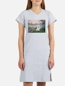 Seine / Eskimo Spitz #1 Women's Nightshirt