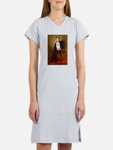 Lincoln / Eskimo Spitz #1 Women's Nightshirt