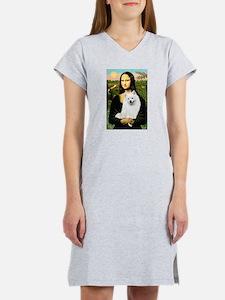 Mona / Eskimo Spitz #1 Women's Nightshirt