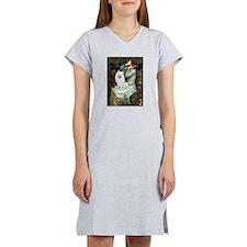 Ophelia / Eskimo Spitz #1 Women's Nightshirt