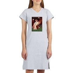 Angel / Eskimo Spitz #1 Women's Nightshirt
