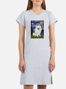 Starry / Eskimo Spitz #1 Women's Nightshirt