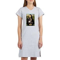 Mona / Fr Bulldog(brin) Women's Nightshirt