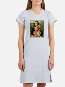 Mona's Golden Retriever Women's Nightshirt