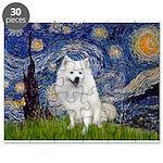 Starry-Am. Eskimo Dog Puzzle