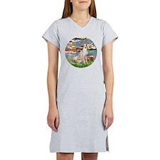 Lilies / Ital Greyhound Women's Nightshirt