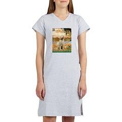 Garden Fiorito/ Spinone Women's Nightshirt