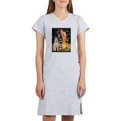 Fairies/ Italian Spinone Women's Nightshirt