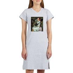 Opohelia's Keeshond (E) Women's Nightshirt