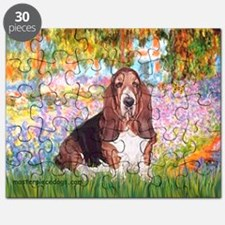 Basset in the Garden Puzzle