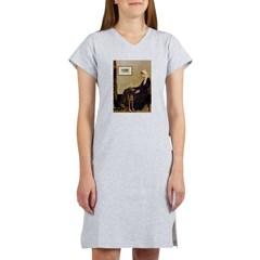 Mom's Chocolate Lab Women's Nightshirt