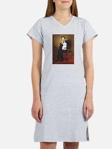 Lincoln's Maltese Women's Nightshirt