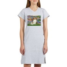Lilies & fawn Papillon Women's Nightshirt