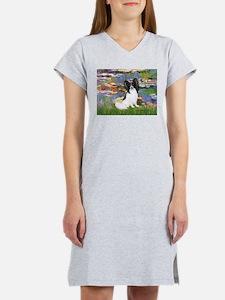 Lilies (2) & Papillon Women's Nightshirt