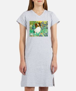 Irises / Papillon Women's Nightshirt