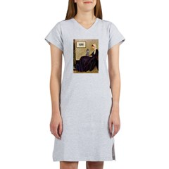 Whistler's / Poodle(s) Women's Nightshirt