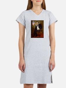 Lincoln / Rat Terreier Women's Nightshirt