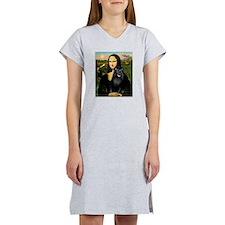 Mona's Schipperke (#5) Women's Nightshirt