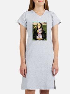 Mona Lisa / Min Schnauzer Women's Nightshirt