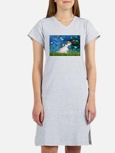 Lilies (#3) / Sealyham (L1) Women's Nightshirt
