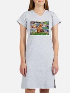 Lilies / Vizsla Women's Nightshirt