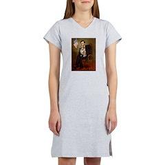 Lincoln's Corgi Women's Nightshirt