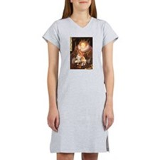 Queen / Welsh Corgi Women's Nightshirt
