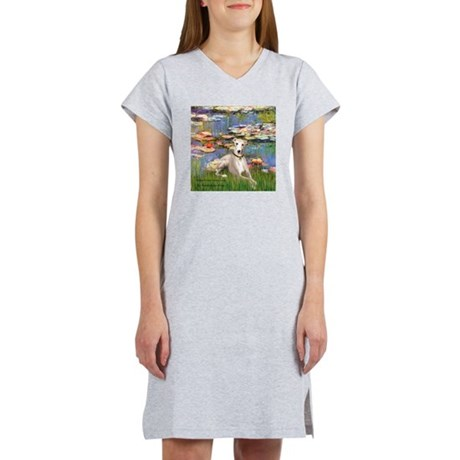 Lilies & Whippet Women's Nightshirt