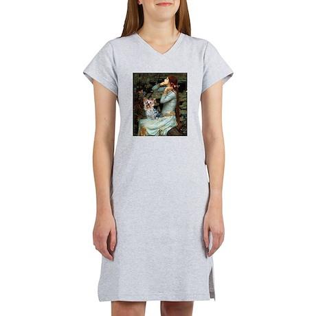 Ophelia's Yorkie (T) Women's Nightshirt