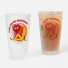 Workout Drinking Glass
