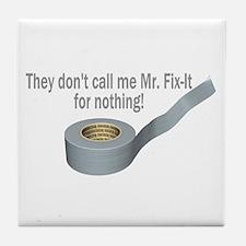 Tape Fix It Tile Coaster