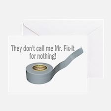 Tape Fix It Greeting Card