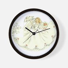 Cute Bridal Wall Clock