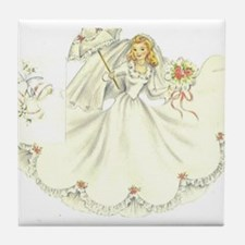 Cute Bride to be Tile Coaster