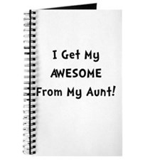 Awesome From Aunt Journal
