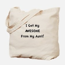 Awesome From Aunt Tote Bag