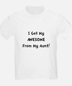 Awesome From Aunt T-Shirt