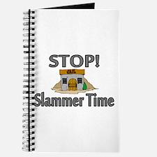 Stop Slammer Time Journal