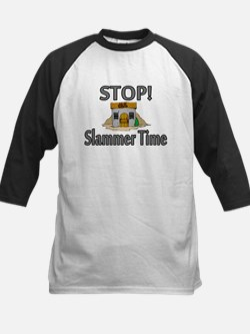 Stop Slammer Time Kids Baseball Jersey