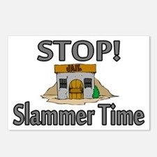 Stop Slammer Time Postcards (Package of 8)