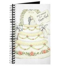 Cute Vintage wedding Journal