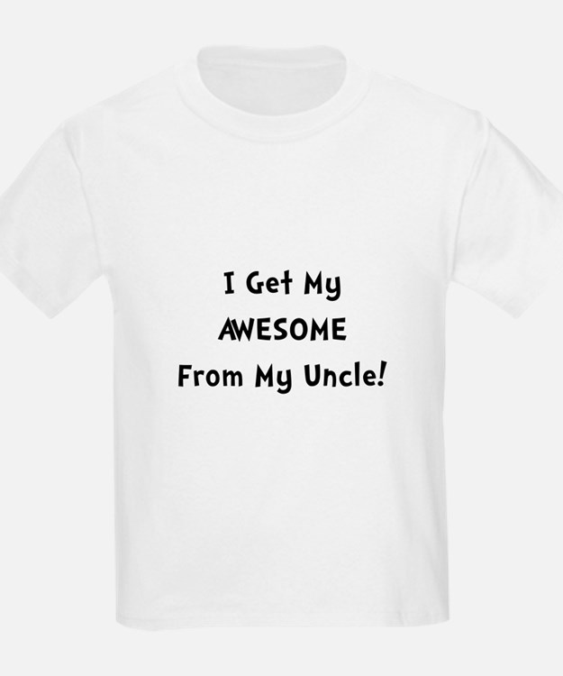 Awesome From Uncle T-Shirt