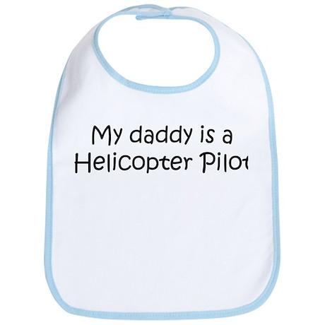Daddy: Helicopter Pilot Bib