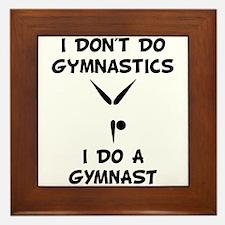 Do A Gymnast Framed Tile