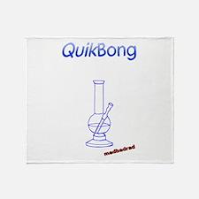 QuikBong Throw Blanket
