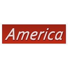 America Bumper Sticker
