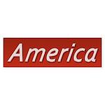 America Sticker (Bumper 50 pk)