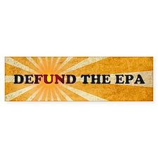 Defund The EPA Car Sticker